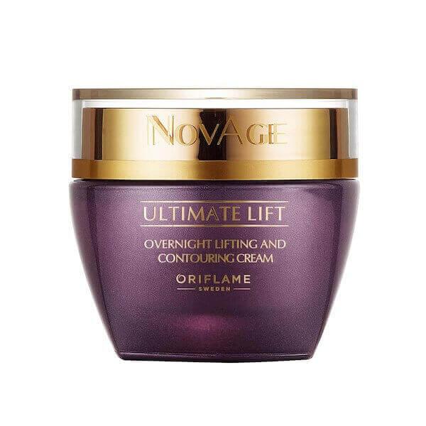 Creme de Noite Lifting & Contouring Ultimate Lift NovAge Oriflame - Imagem 1