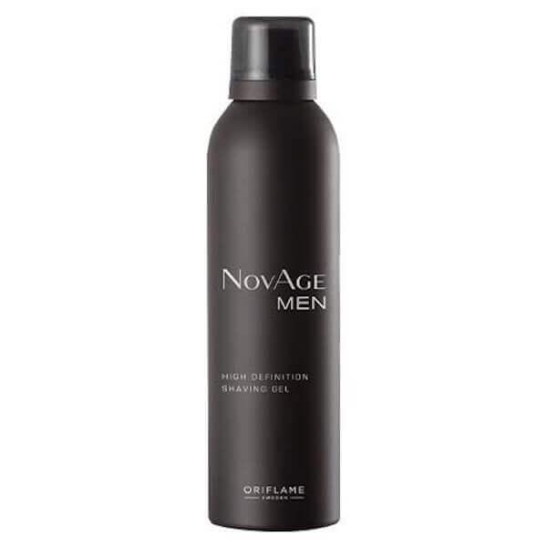 Gel de Barbear High Definition NovAge Men Oriflame - Imagem 1